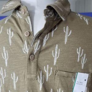 Goodfellow & Co Sz M cactus patt Shirt